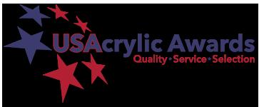 US Acrylic Awards Logo